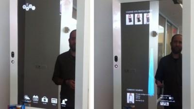 B timents utilisant la techno sans pile maison for Miroir interactif
