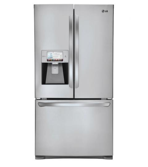 1er réfrigérateur connecté proposé par LG